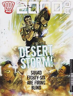 2000AD Prog #2052 - 11 October 2017 - NEW