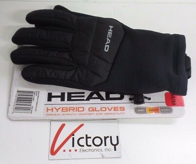 NEW Men's Head Hybrid Sensatec Gloves Premium Warmth & Comfort Warmer Size M