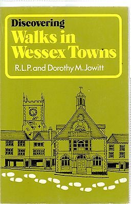 1974 20346  Discovering Walks In Wessex Towns