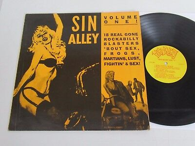 Various Artists/sin Alley Volume One!-Sin Alley Series-  Lp Big Daddy Cr-Bd-5501