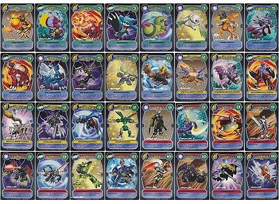 BANDAI DIGIMON D-TECTOR SERIES 3 - COMPLETE BASE SET 32 CARD LOT Very Good-NM