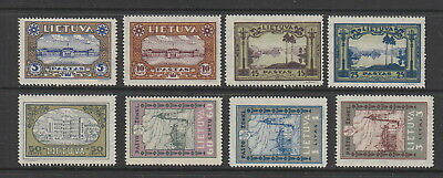 Lithuania 1932 Orphans Fund , Perf Set fine MH