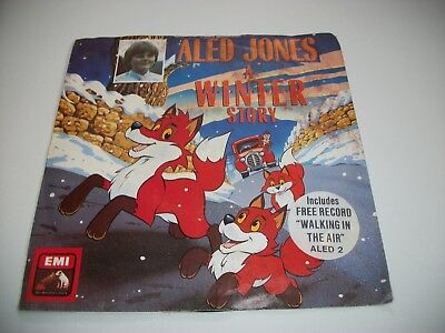 "Aled Jones- A Winter Story Vinyl 7"" 45Rpm Ps"