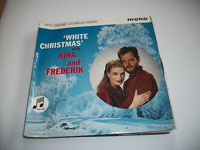 "Nina & Frederik-  White Christmas  Ep - Vinyl 7"" 45Rpm Ps"