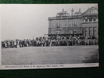 St Andrews. England v Scotland International Golf Match. August 1905. 1st Tee.