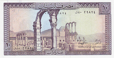 10 Livres Unc Banknote From Lebanon 1993(?)!pick-63!!