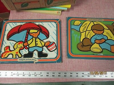 Holgate Little Boy Blue Wooden Tray Puzzle Wood Kids