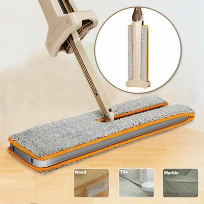 360 Degree Lazy Double-Side ABS Flat Mop Hands-Free Washable Mop Home CleaningN