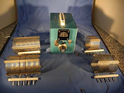 Home Brew HF Antenna Tuner For Ham Radio With 4 Coils QRP