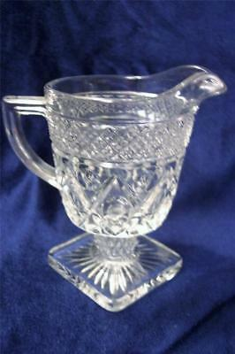 Imperial CAPE COD Footed Creamer Fancy Stem EXC!