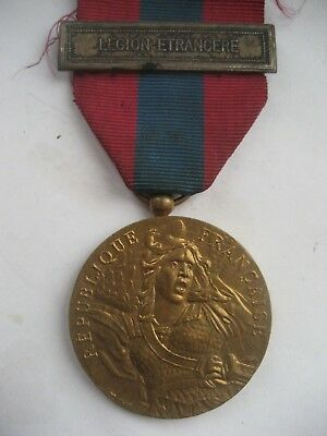 French Foreign Legion Defence National Medal.with 'legion Etrangere Bar