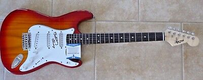 Buddy Guy Blues Great Signed Autographed Electric Guitar BAS Certified