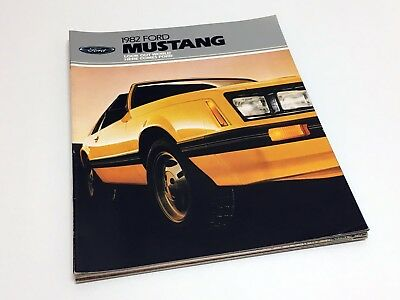 1982 Ford Mustang Brochure