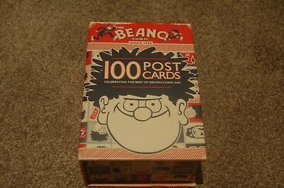 The Beano Comic - 100 Postcards in a Box