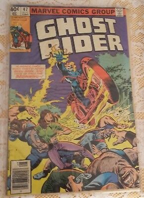 Comic Ghost Rider #47 August 1980
