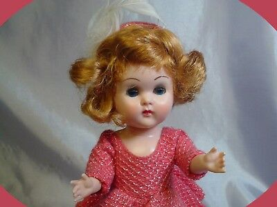 VOGUE BKW Ginny Auburn Doll Pink Skater Outfit 1958