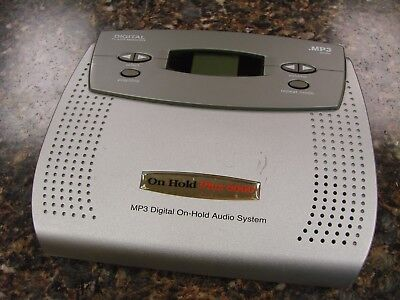 On-Hold Plus 6000 MP3 Digital Music Audio Player 64Mb Memory & SD Card Slot