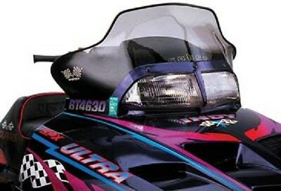 Powermadd Cobra Windshield Polaris Aggressive Hood- Split Headlight Xcr Sp Indy