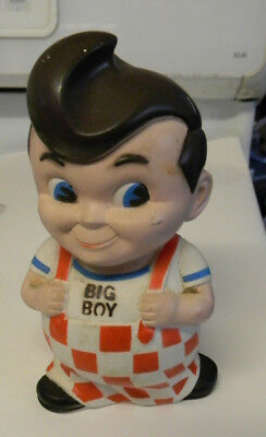 "Bob's ""big Boy""  Bank,  Hard Rubber"