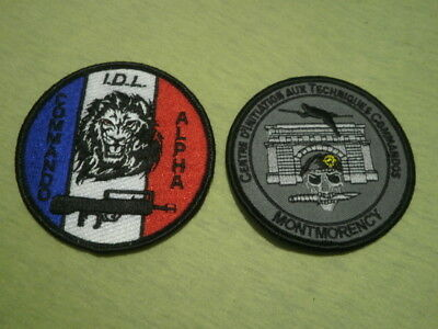 Insigne Ecusson Badge Patch Commando Alpha Intervention Formation Montmorency 95