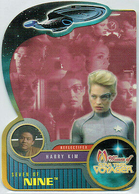 Star Trek Women Of Voyager Reflectifex Card R4