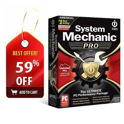 iolo System Mechanic Professional PRO - Unlimited PCs - KEY CODE ONLY