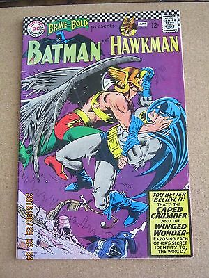 Brave and the Bold # 70 February 1967 Batman and Hawkman - Infantino cover FN +