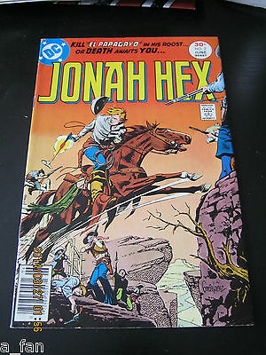 Jonah Hex #  2 June 1977 DC Michael J. Fleischer / Jose Luis Garcia Lopez art