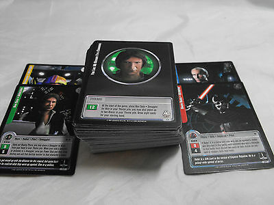 Star Wars Jedi Knights Complete Set Of Common, Uncommon And Fixed Cards