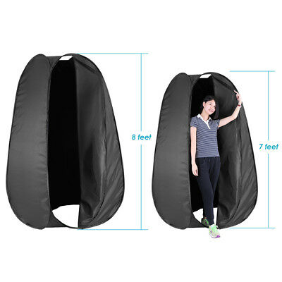 Neewer 244Cm Plegable Camping Fotografía Estudio Pop Up Probador Con Funda Negro