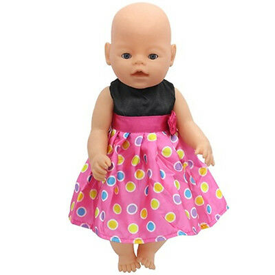 1set Doll Clothes Wearfor 43cm Baby Born zapf (only sell clothes ) B124