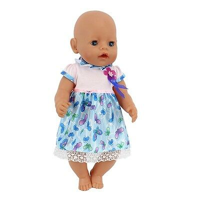 1set Doll Clothes Wearfor 43cm Baby Born zapf (only sell clothes ) B546