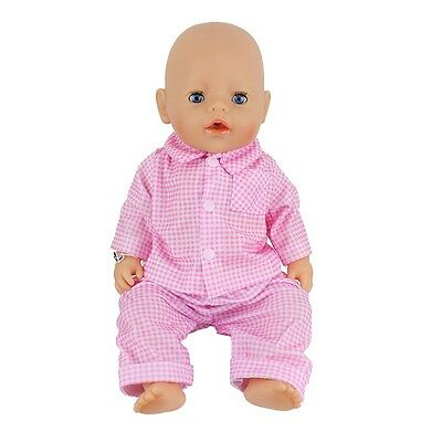 1set Doll Clothes Wearfor 43cm Baby Born zapf (only sell clothes ) B617