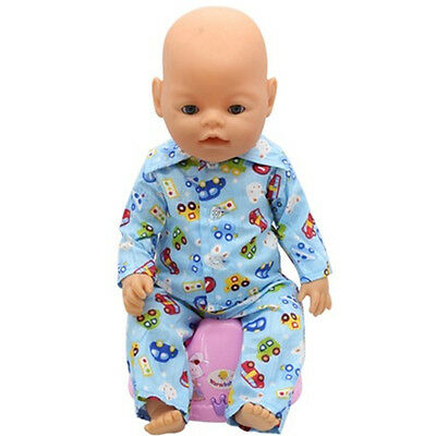 1set Doll Clothes Wearfor 43cm Baby Born zapf (only sell clothes ) B71