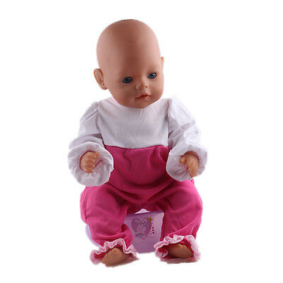 1set Doll Clothes Wearfor 43cm Baby Born zapf (only sell clothes ) N117