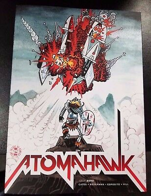 Atomahawk #0 Image Oversize Issue Jesse James Exclusive Donny Cates Variant 2017