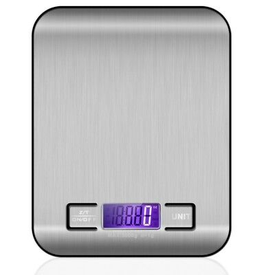 5KG/11LBS x 1g Electronic Compact Digital Kitchen Scale Diet Food Postal Mail 3C