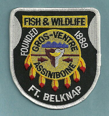 Fort Belknap Montana Tribal Fish & Game Police Patch