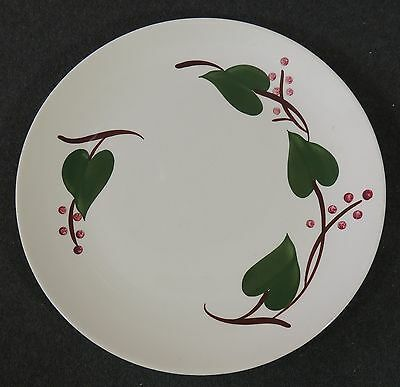 Blue Ridge Southern Potteries Hand Painted Stanhome Ivy Dinner Plate EUC