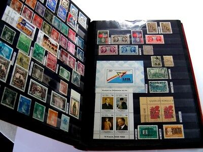 TURKEY, SYRIA, MIDDLE EAST,  Excellent Stamp Collection in a Stockbook
