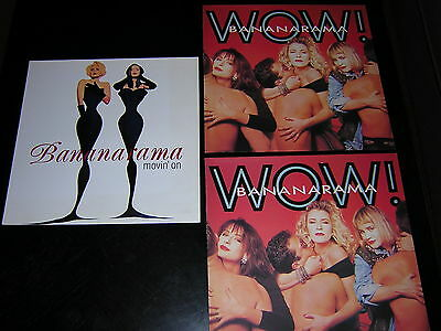 "2 Bananarama Album Sleeves + 1 12"" Single Sleeve"
