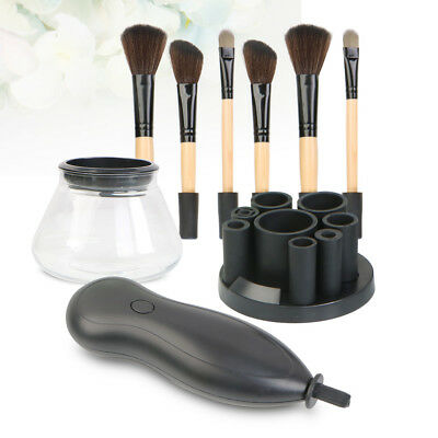 Electric Makeup Brush Cleaner Cosmetic Dry Wash Cleaning Tool Kit Beauty Set NEW