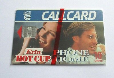 Erin Hot Cup - Phone Home / Irish Telecom Mint Sealed  Phonecard