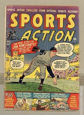 Sports Action (1950) #7 GD- 1.8