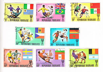 Togo - World Cup 1970 - Eight Stamps