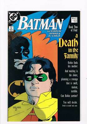 Batman # 427 A Death in the Family - Chapters III & IV ! grade 8.5 scarce book !