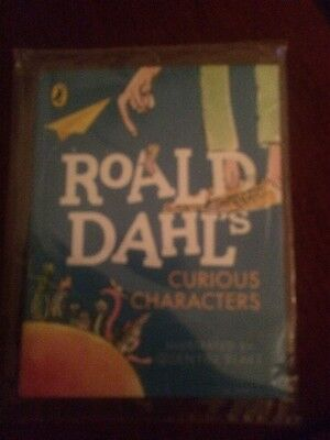 McDonalds Happy Meal - Roald Dahl Curious Characters Book