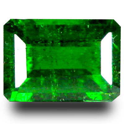1.11 ct  Great looking Cushion Shape (7 x 5 mm) Green Chrome Diopside Gemstone