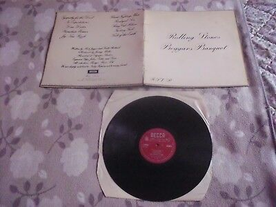 THE ROLLING STONES   Mono   LP  Beggars Banquet