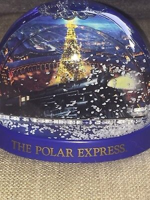 Polar Express Snow Globe/Dome Warner Brothers